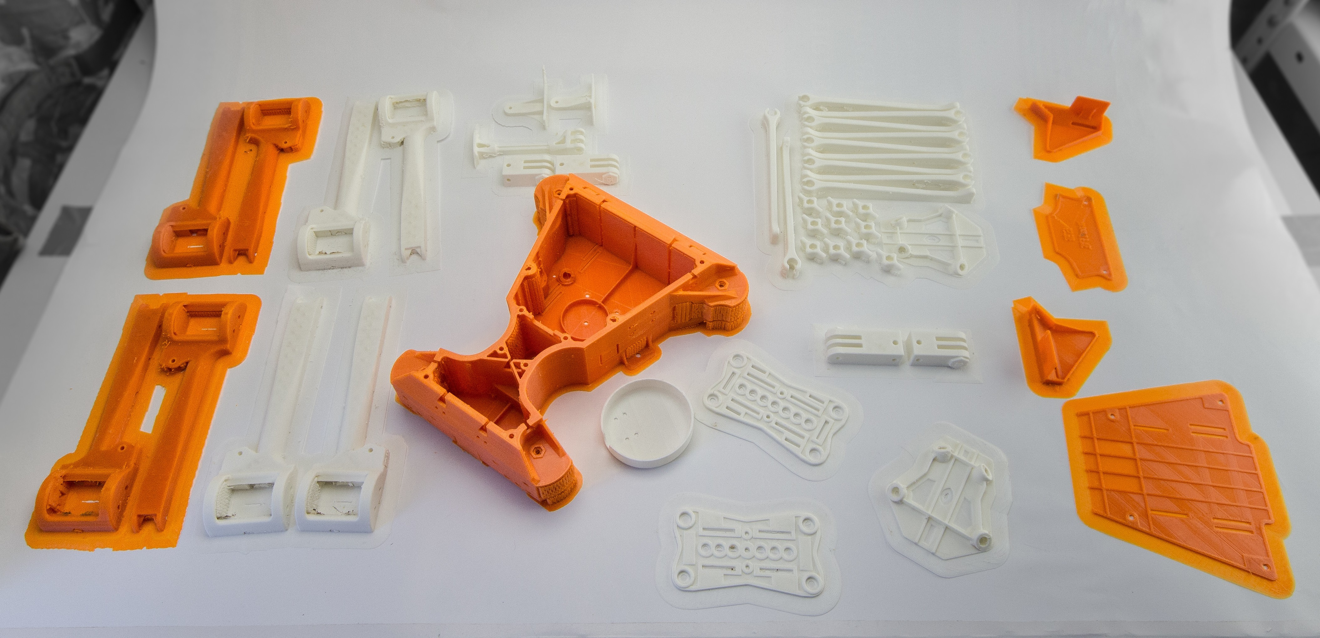 IMG_8394.jpg Download STL file Folding Quadcopter 450 Frame • 3D print object, AleksandrDolzhenko