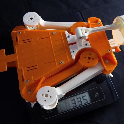 IMG_8956.jpg Download STL file Folding Quadcopter 450 Frame • 3D print object, AleksandrDolzhenko