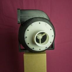 2.jpg Download STL file Air turbine (air pump) • 3D printable design, AleksandrDolzhenko