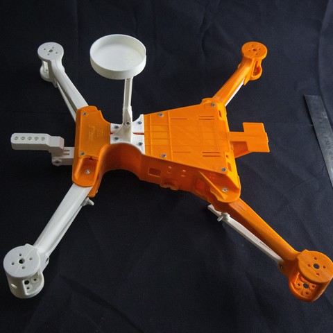 IMG_8929.jpg Download STL file Folding Quadcopter 450 Frame • 3D print object, AleksandrDolzhenko