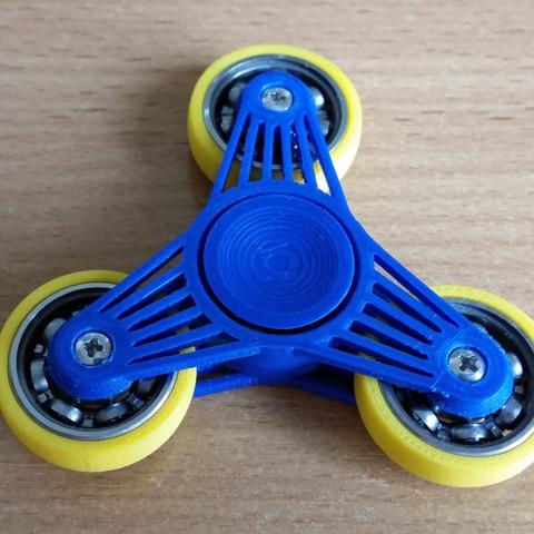 Télécharger fichier impression 3D gratuit 608's spinner, bda