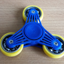Download free STL file 608's spinner, bda
