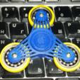 Download free STL file 608's spinner, bda