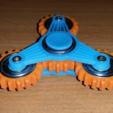 Télécharger fichier STL gratuit Gear spinner • Objet imprimable en 3D, bda