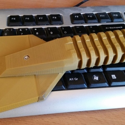 Download free 3D printer designs Ice Scraper with interchangeable blade, bda