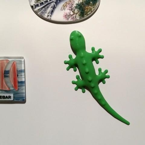 Télécharger fichier STL gratuit Gecko magnétique • Modèle pour impression 3D, bda