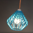 Download 3D printing templates LUX lamp shade, Magigoo