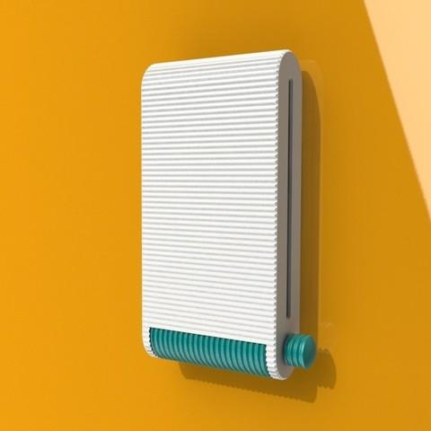 iso 1.JPG Télécharger fichier STL gratuit Distributeur de tampons • Modèle pour imprimante 3D, StudioRaket