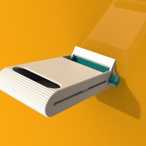 iso 2 open.JPG Télécharger fichier STL gratuit Distributeur de tampons • Modèle pour imprimante 3D, StudioRaket