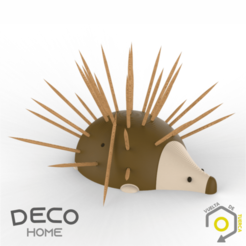 PUERCO vdt.png Download STL file Stick porcupine • 3D printable model, VdT