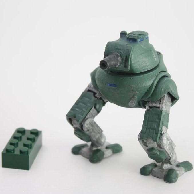 Gorbo 1.png Télécharger fichier STL gratuit Gorbo Tankoped • Objet à imprimer en 3D, Steyrc