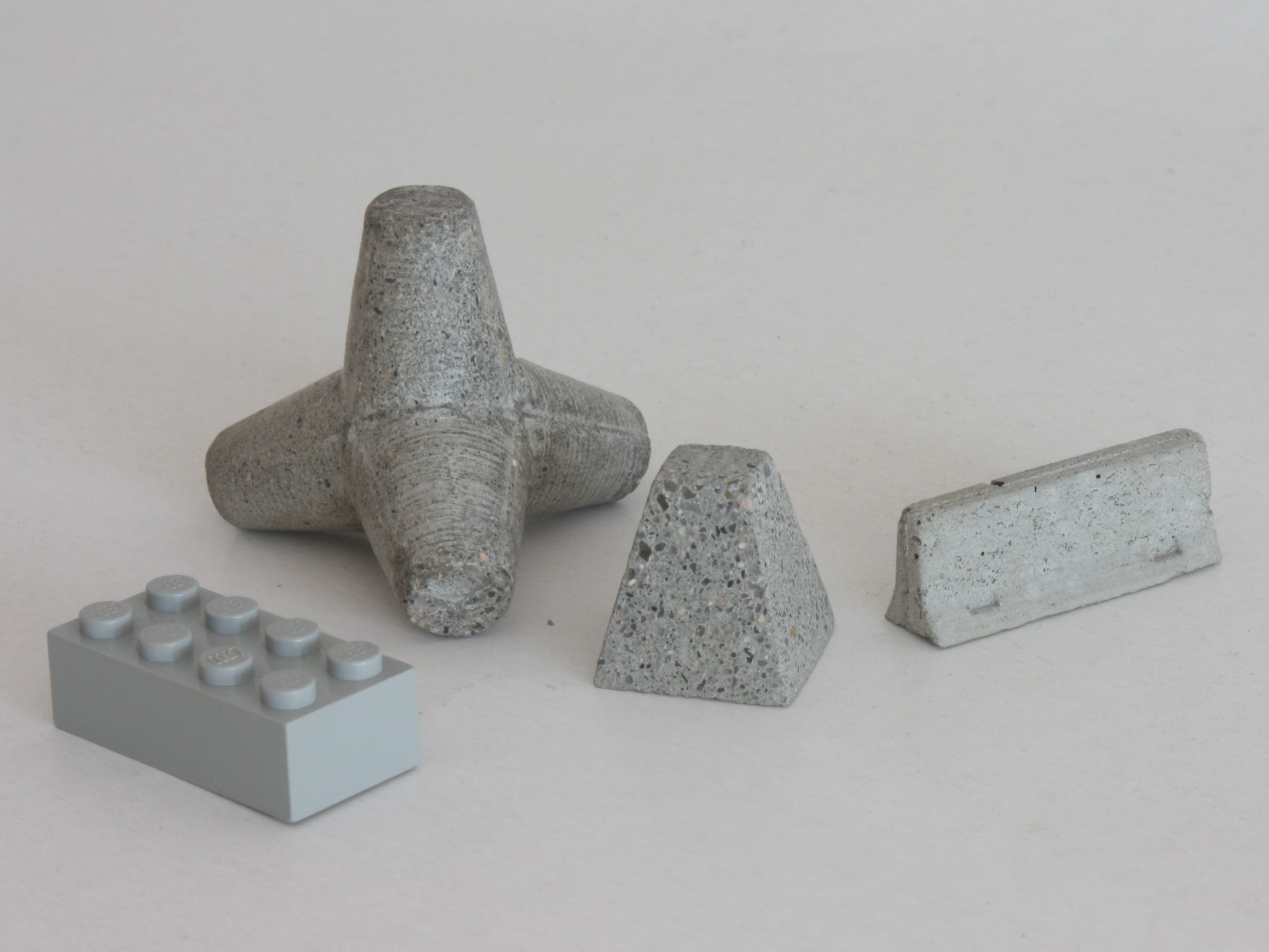 emplacement scale.jpg Download free STL file  Concrete obstacles • 3D printable model, Steyrc