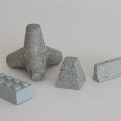 Download free 3D printer designs  Concrete obstacles, Steyrc