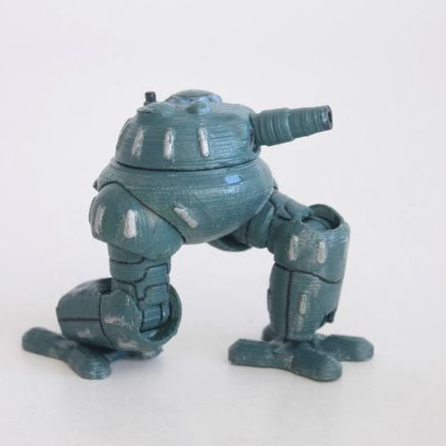 gorbo3_4.JPG Download STL file Gorbo 3 tankoped • Template to 3D print, Steyrc
