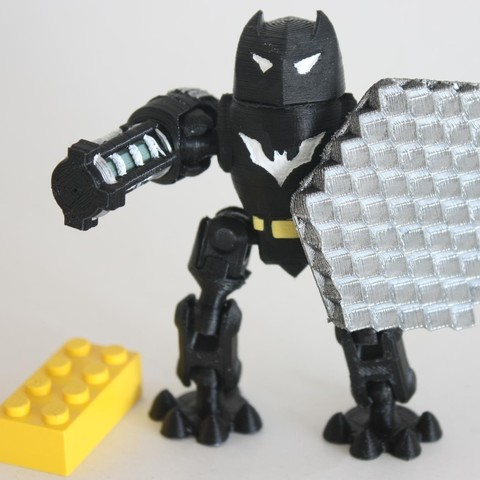 Free 3D printer files Batbot, Steyrc