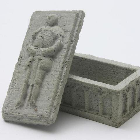 Download free 3D printer designs Knight sarcophagus (concrete), Steyrc
