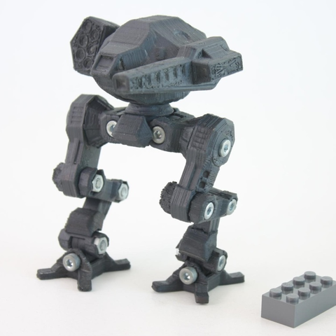 Download free 3D printer designs Goshawk mech, Steyrc