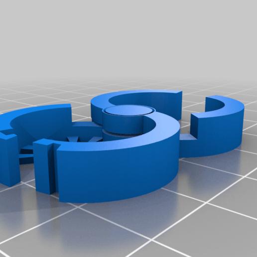 Download free STL file Plant Snap Lock Clip • Template to 3D print, MatsErik