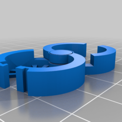 Download free STL file Plant Snap Lock Clip • Template to 3D print, MatsErik
