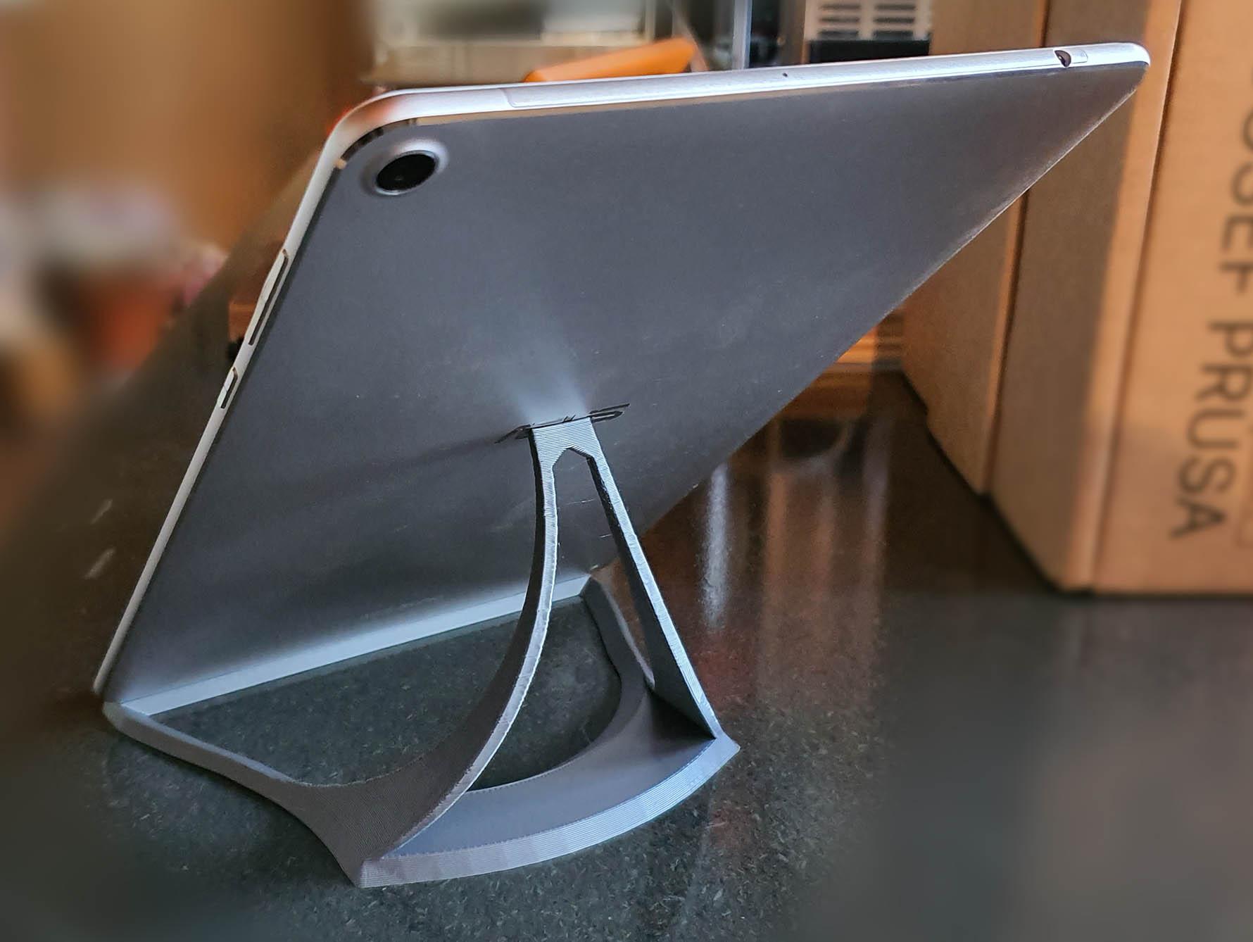 ts1.jpg Download free STL file Slim Tablet Stand • Object to 3D print, MatsErik