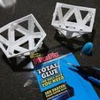 Download free 3D printer designs Detachable Ikosaeder Xmas Star, MatsErik