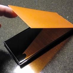 Télécharger fichier STL gratuit Samsung Galaxy Note 10+ Couvercle rabattable • Modèle pour impression 3D, MatsErik