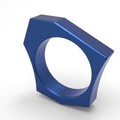 Download 3D printer model Asymmetric Ring, DIReyes290