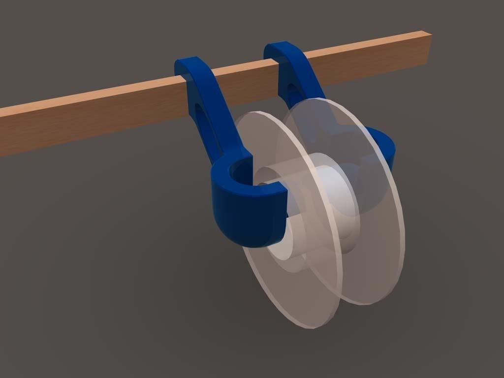 resize-spool-holder-3.jpg Download free STL file Quick change filament holder • 3D print design, TheJimReaper