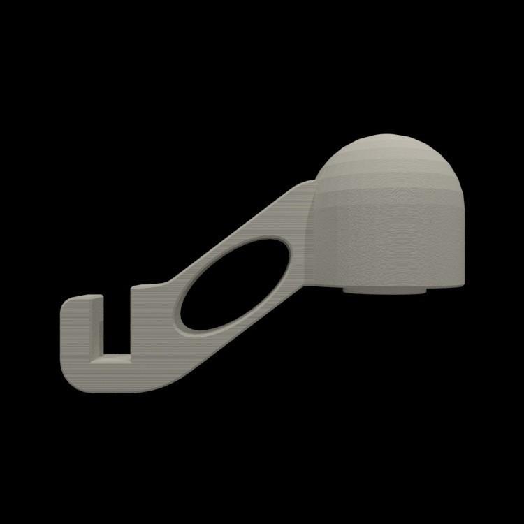 resize-render-right-spool-holder-14.jpg Download free STL file Quick change filament holder • 3D print design, TheJimReaper