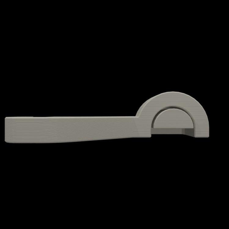 resize-render-right-spool-holder-10.jpg Download free STL file Quick change filament holder • 3D print design, TheJimReaper