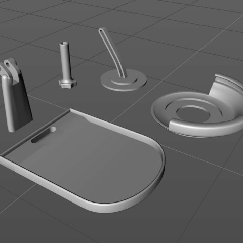 resize-sc-charger-stand-parts.jpg Download free STL file Adjustable Wireless Charger Stand • 3D printer template, TheJimReaper