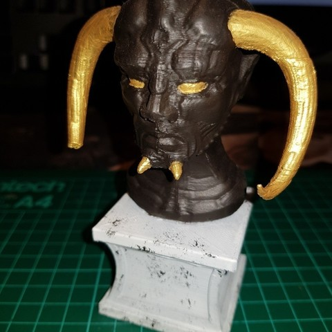 Modèle 3D gratuit Buste du monde souterrain, TheJimReaper