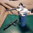 Free 3D printer files 250ml Can Airbrush Station, TheJimReaper