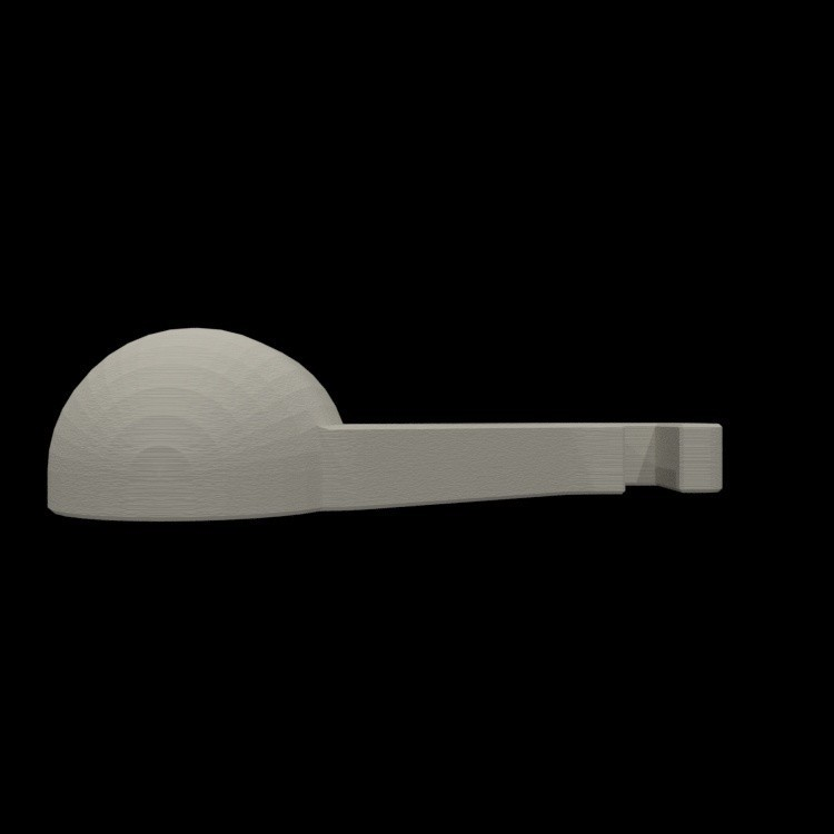 resize-render-right-spool-holder-12.jpg Download free STL file Quick change filament holder • 3D print design, TheJimReaper