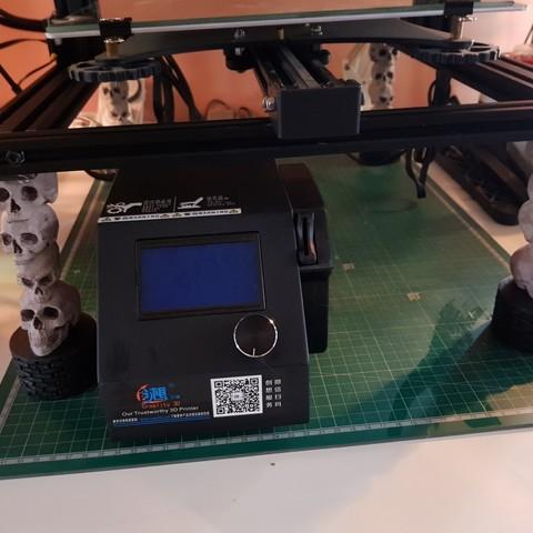 resize-20180227-130012-1.jpg Download free STL file CR-10 Skull Legs • 3D printable template, TheJimReaper