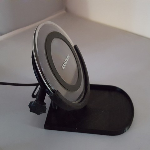 Free STL files Adjustable Wireless Charger Stand, TheJimReaper