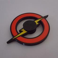 Free stl The Flash Fidget Spinner, TheJimReaper