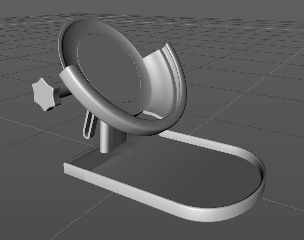 resize-sc-charger-stand.jpg Download free STL file Adjustable Wireless Charger Stand • 3D printer template, TheJimReaper