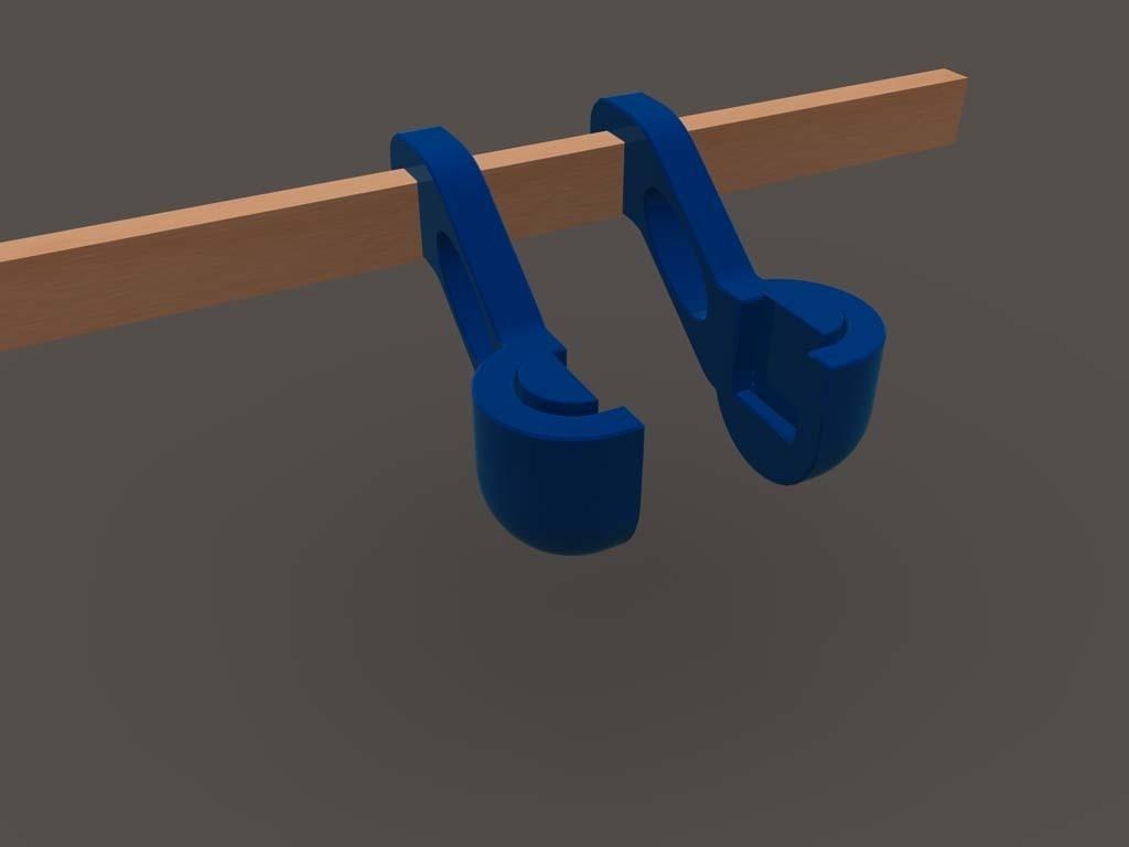 resize-spool-holder-1.jpg Download free STL file Quick change filament holder • 3D print design, TheJimReaper