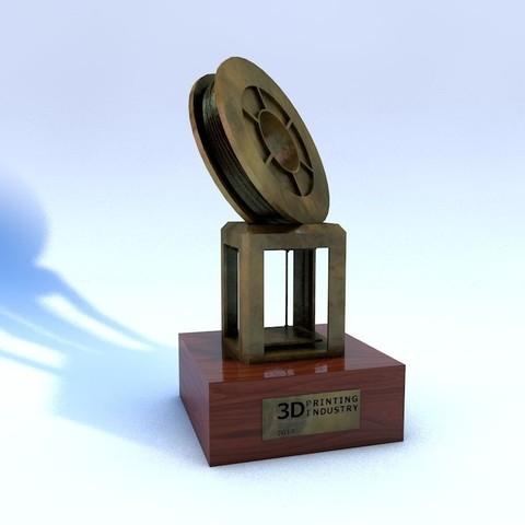 Free 3D print files 3DPI Trophy, TheJimReaper