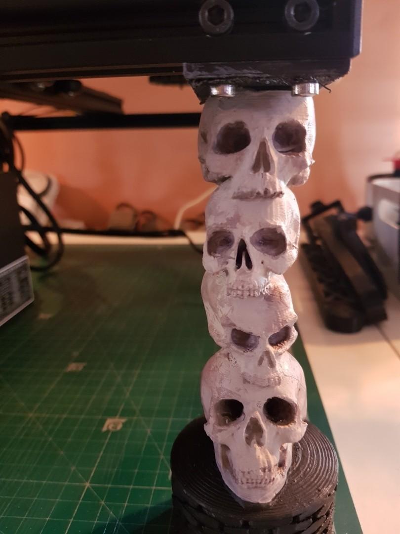 resize-20180227-130004-1.jpg Download free STL file CR-10 Skull Legs • 3D printable template, TheJimReaper