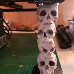 STL gratis CR-10 Piernas del cráneo, TheJimReaper