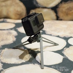 Free 3D printer model GoPro foldable tripod, krakow_marcin