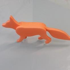 Download 3D print files FoxPeace - Fox 3D / 3 layers, Hammed