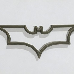 Download free 3D printer model Batman Cookie Cutter, Geekdad_3D