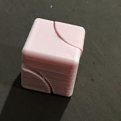 Free stl Fidget spinner cube, Geekdad_3D