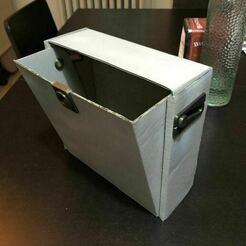 IMG_3792.jpeg Télécharger fichier STL gratuit Distributeur de masque covide à partir d'une boîte à filaments • Objet imprimable en 3D, SbastienAdamowicz