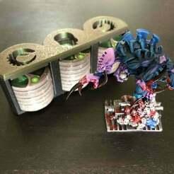 IMG_4172.jpg Download free STL file Space Hulk chip holder boxes • 3D printing design, SbastienAdamowicz