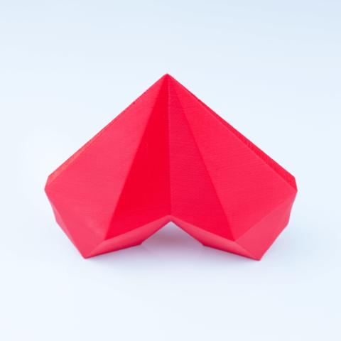 polygon_heart-2.png Download free STL file Polygon Heart • 3D printer object, antoine_taillandier_studio