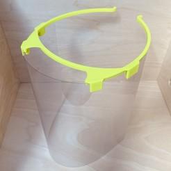 Descargar modelo 3D gratis Protector facial COVID-19, antoine_taillandier_studio